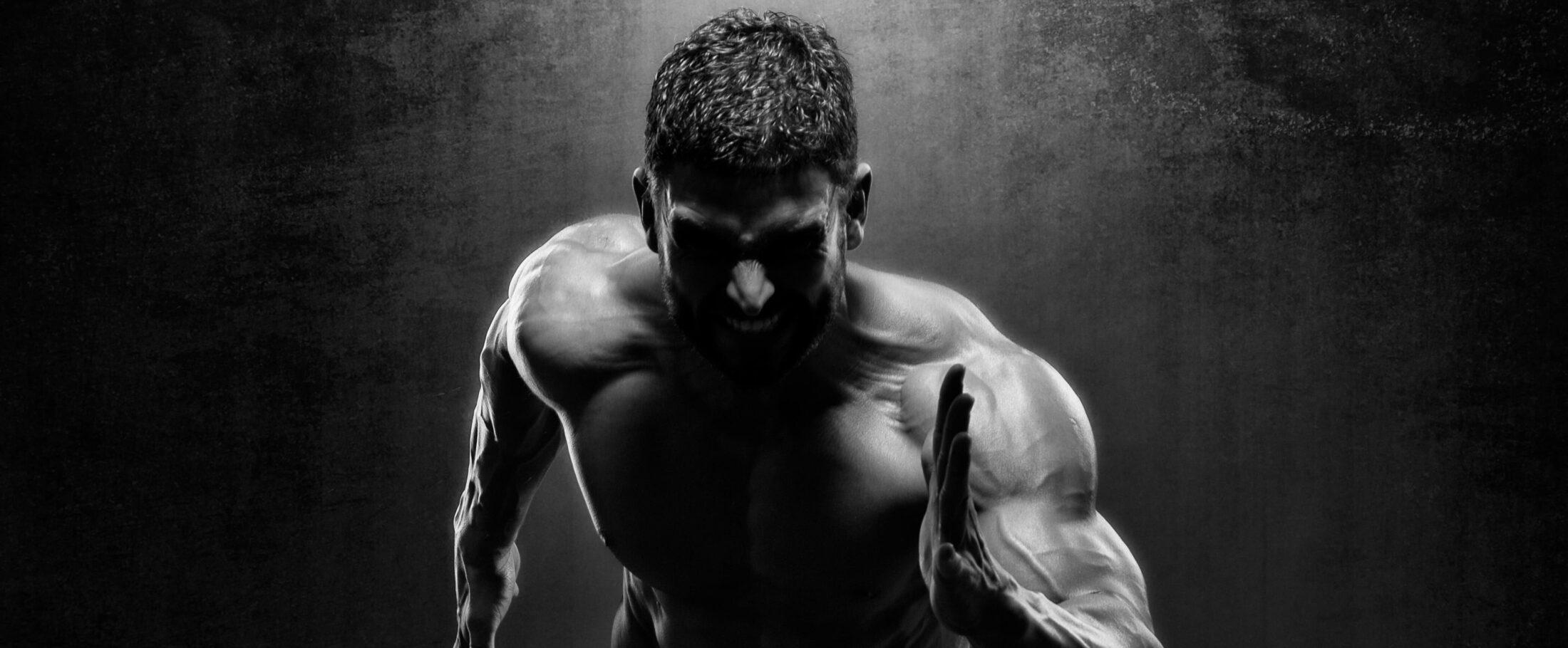 Mann beim High intensity intervall Training | Dein Personal Trainer Berlin